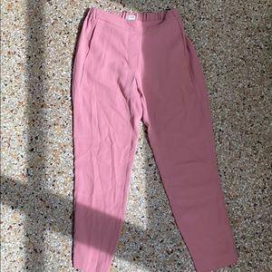 J Crew size 2 pink dress pants
